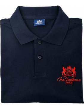 Polo Blue (Red Logo)