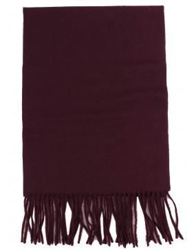 Kασκόλ  Wool Bordeaux