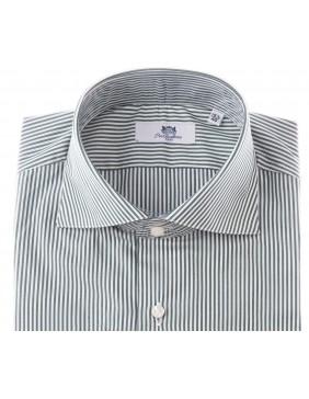 Πουκάμισο Sartorial Business Stripes Green