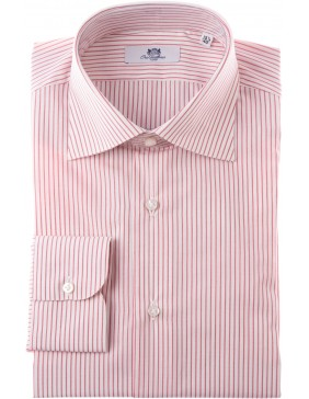 Πουκάμισο Sartorial  Classic  Stripes  Red