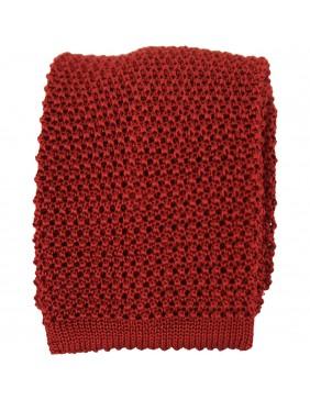 ΓΡΑΒΑΤΑ Silk Tricot  Red Cardinal