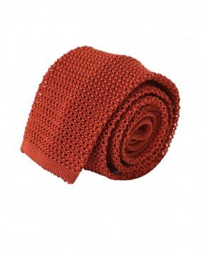 ΓΡΑΒΑΤΑ Silk Tricot Ruggine