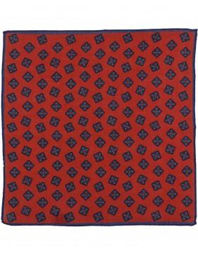 Μαντηλάκι Wool  Rombo Orange