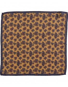 Μαντηλάκι Wool Paisley Yellow