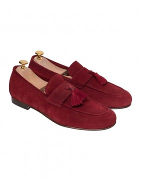 Παπούτσια Tassel Loafers Burgundy