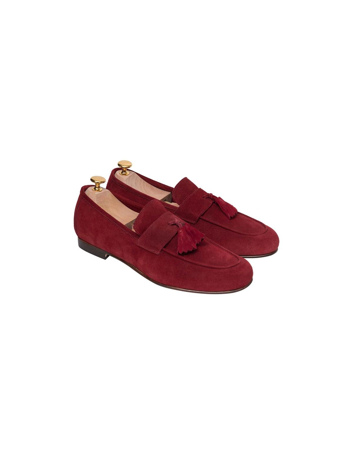 Παπούτσια Tassel Loafers Bordeaux