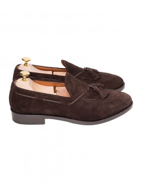 Παπούτσια Tassel Loafers Brown