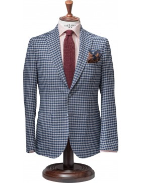 Σακάκι Sartorial Wool Chess Blue