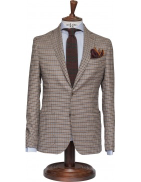 Σακάκι Sartorial Wool Chess Brown
