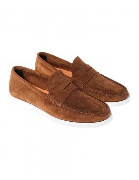 Παπούτσια Sailing Loafers Caramel